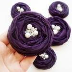 Purple Roses Handmade Appli..