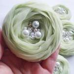 Mint Green Roses Handmade ..